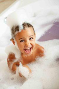 bath time rituals